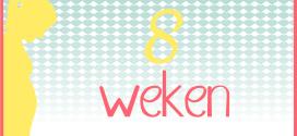 Trotse Moeders Banner - 8 Weken zwanger