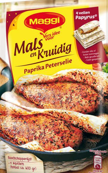 Maggi, Mals en Sappig, Kipfilet, Paprika Peterselie