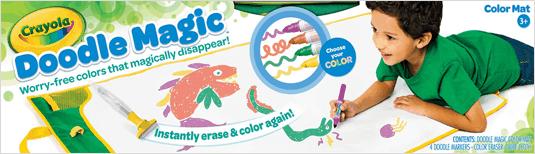 Doodle Magic Kleurmat