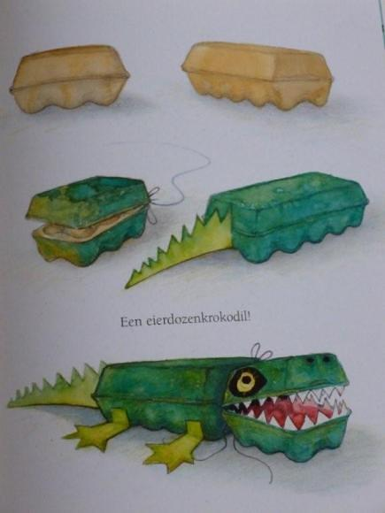 Er ligt ene krokodil onder mijn bed