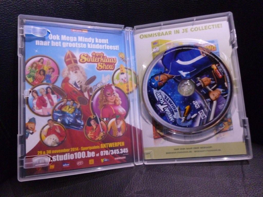 mega toby in de ruimte DVD