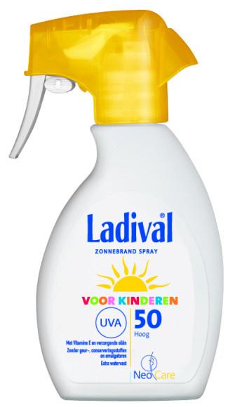 kinderen SPF 50 spray