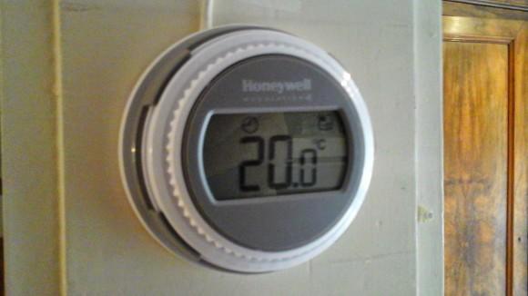 Honywell ronde online termostaat