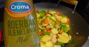 croma wok oliemelange