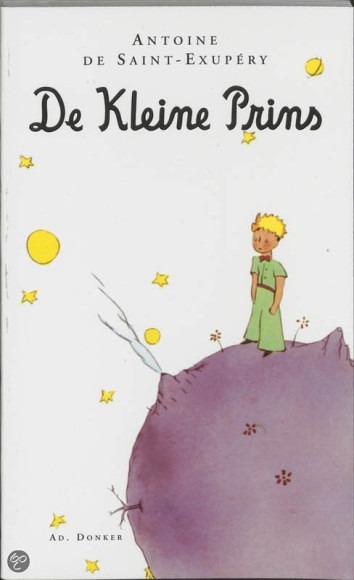 De kleine prins boekcover