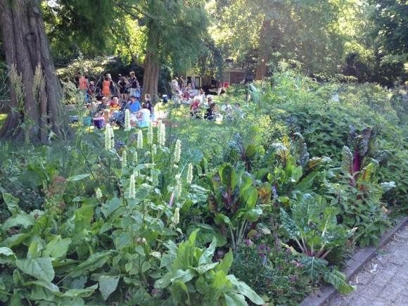 zoomeravond artis eetbare tuin