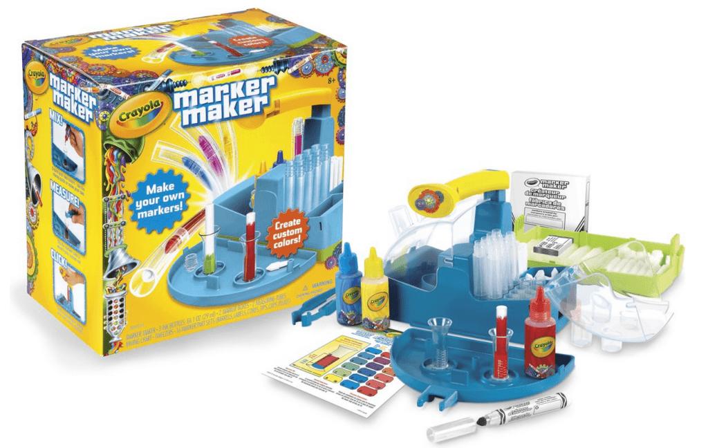 Maak je eigen stiften met crayola marker maker recensie - Hoe een studio van m te ontwikkelen ...