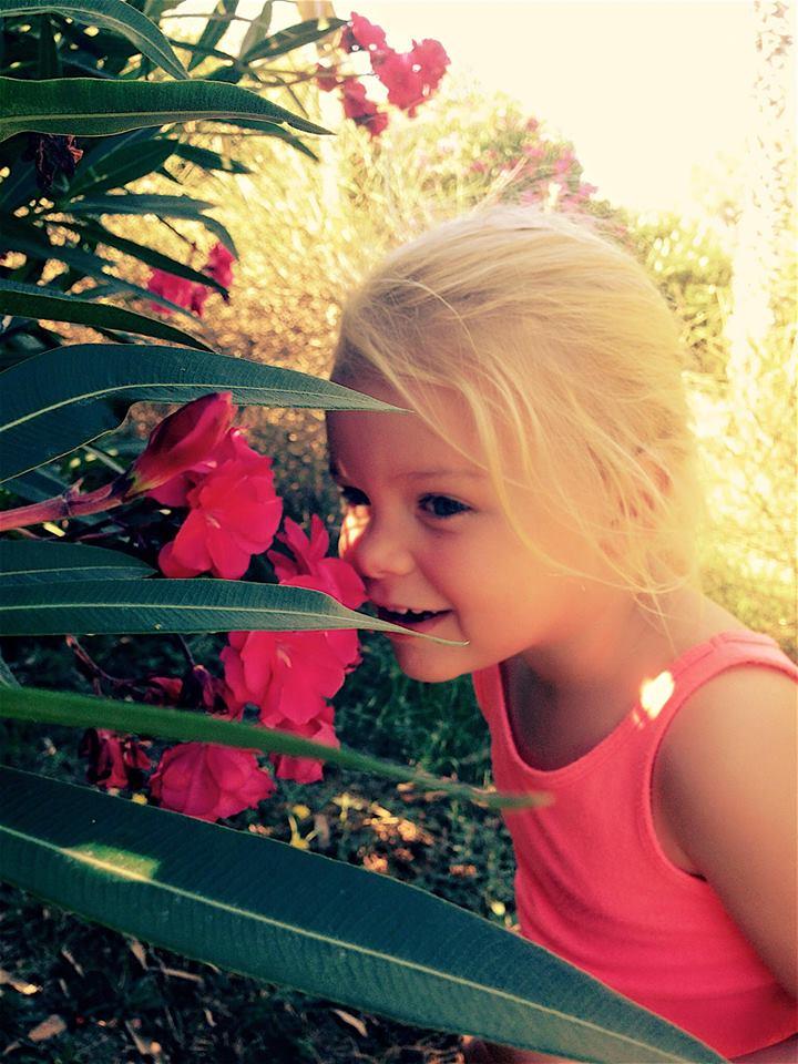 jasmijn met bloem