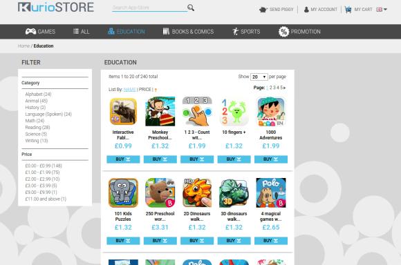 Kurio App store education, Kurio Smart