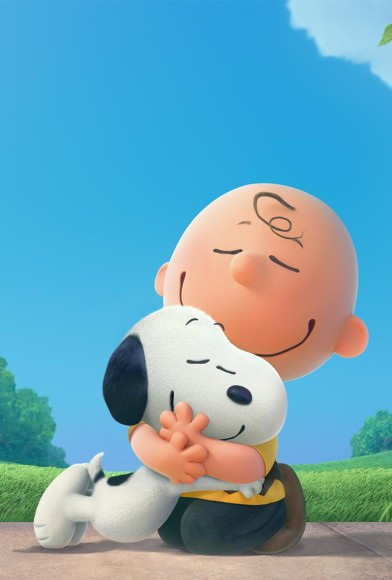 Snoopy en Charlie Brown de peanuts film 3