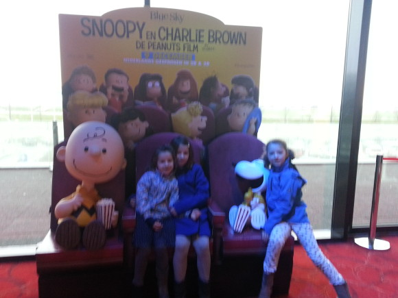 Snoopy en Charlie Brown de peanuts film 6