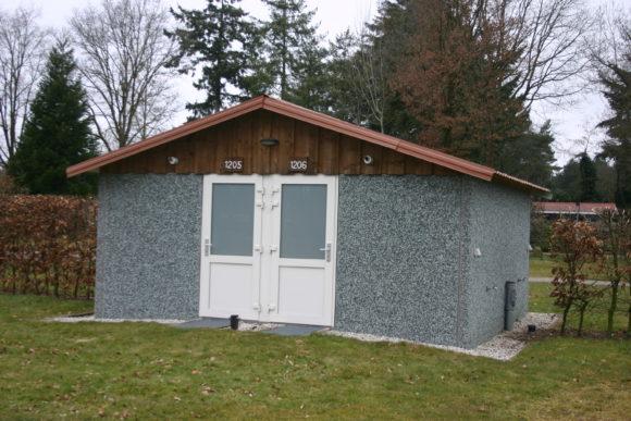 vakantiepark De Schatberg comfort camperen met eigen toiletgebouw