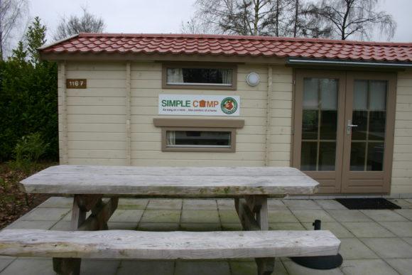 vakantiepark De Schatberg kamperen Simple Camp tent