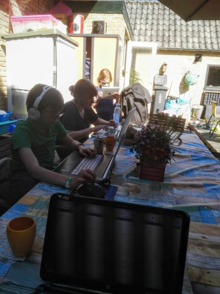 FRITZ!wlan repeater werken in de tuin