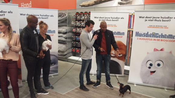Huisdierengeheimen bn presentatie Nlstemmencast Roué Verveer Buddy
