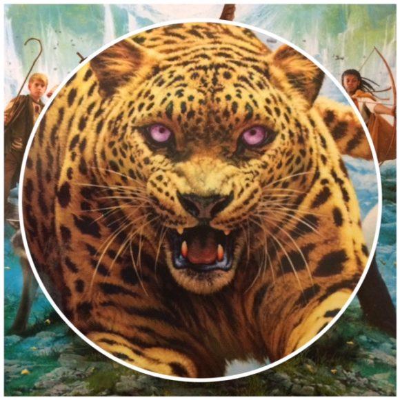 Spirit Animals 1 - cover met luipaard