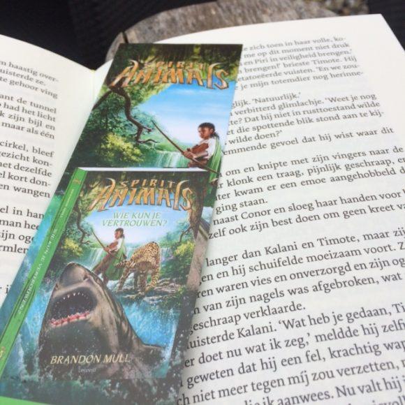 Spirit Animals 5 - boek met boekenlegger