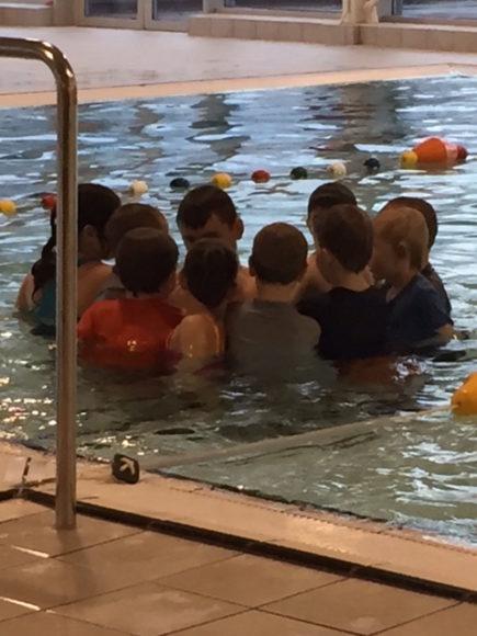 zwemles groepje