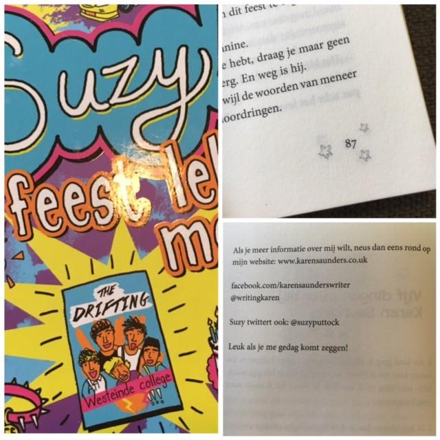 Suzy D. feest lekker mee - cover en contact