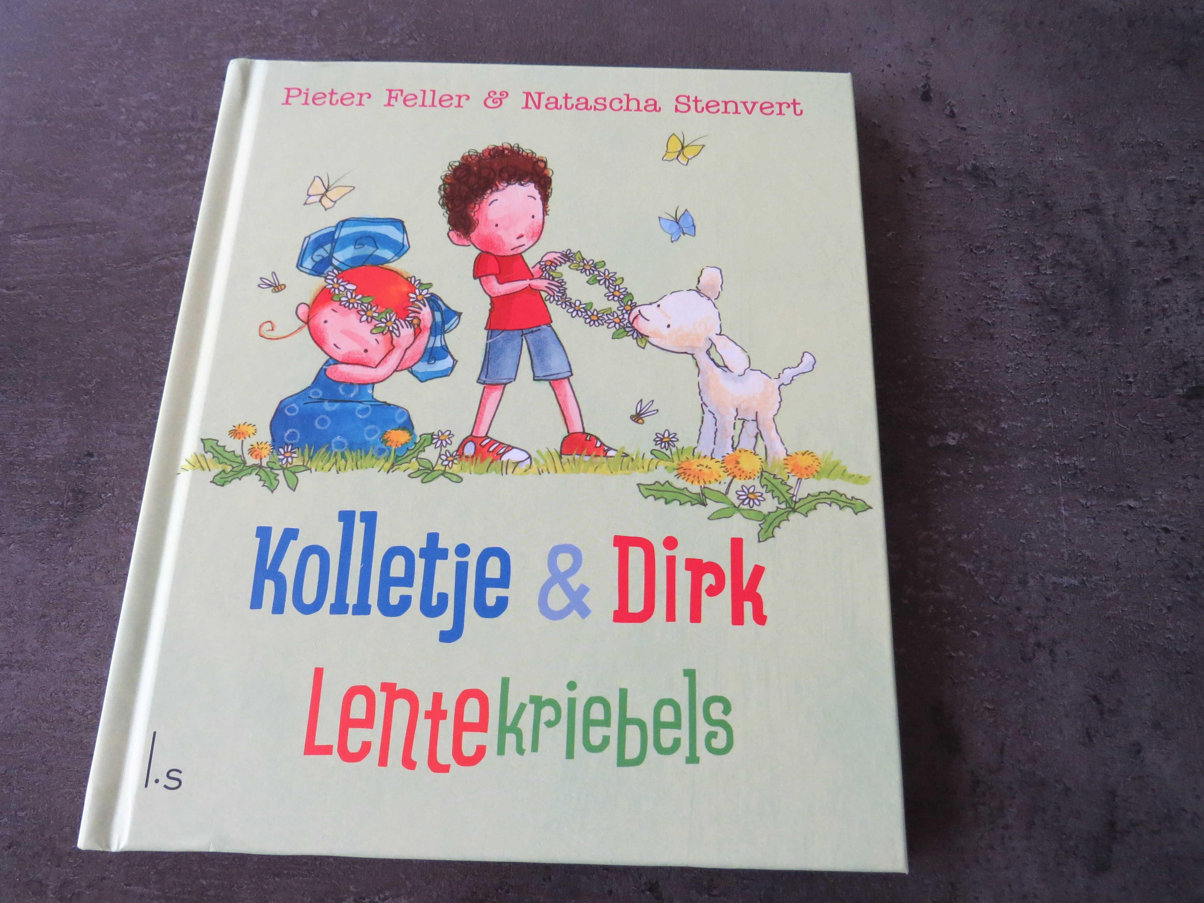 voorkant Kolletje & Dirk lentekriebels