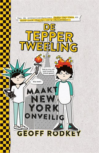 Tepper tweeling New York cover