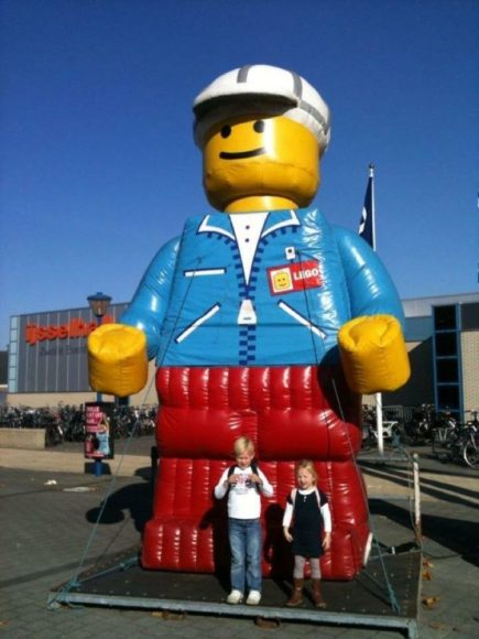 Bij LEGO World, een aantal jaren geleden