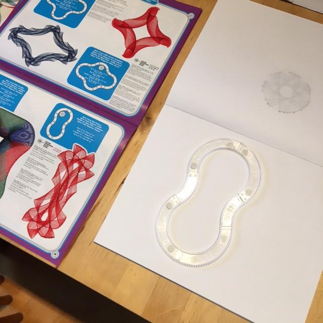 spirograph-voorbereidingen