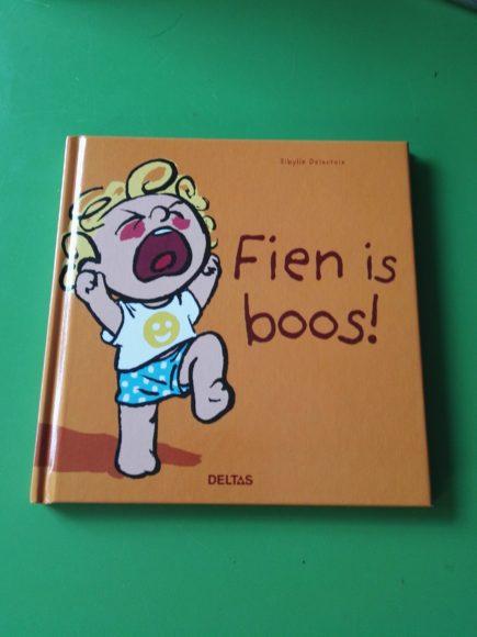 Boek Fien is boos!