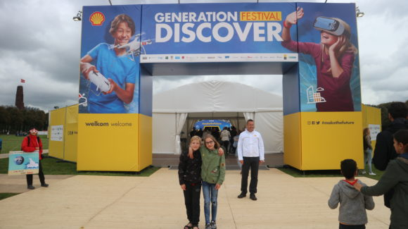 2017 Shell generation Discovery Ingang