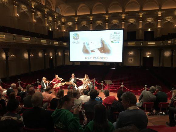TEAM Papageno: speciale muziek-app voor autistische kinderen gelanceerd in Het Concertgebouw