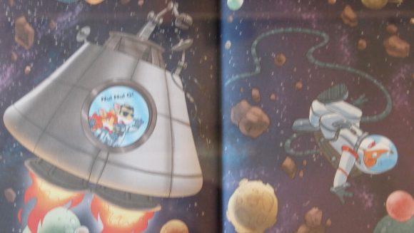 SOS uit de ruimte, van Geronimo Stilton, uitgebracht door de wakkere muis