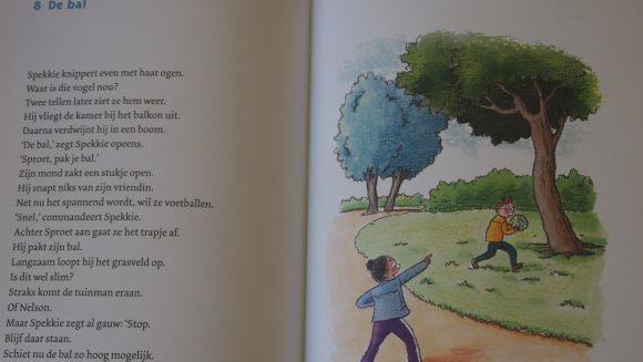Spekkie en Sproet zelf lees boek, van Vivian den Hollander, uitgebracht door ploegsma