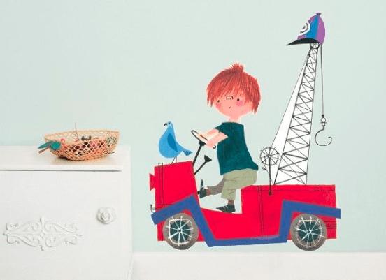 Hoe maak je een babykamer in een fiep westendorp thema