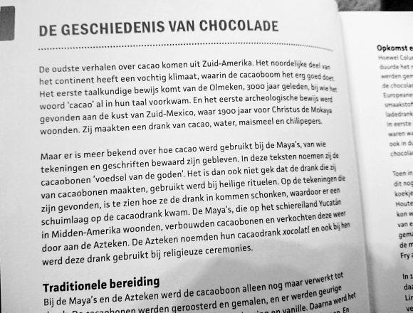 chocoladebijbel Kees Raat omslag geschiedenis