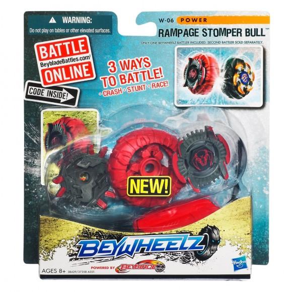 BeyWheelz W-06 Rampage Stomper Bull
