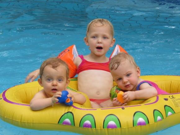 tweelingzwemband dubbelgeluk
