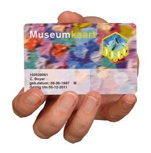 Museumkaart hand