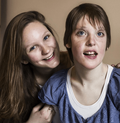 Lisa en Elke, fotograaf: Danielle Lambinon