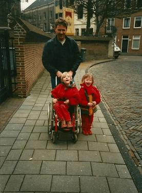 Lisa en Elke, foto familiebezit