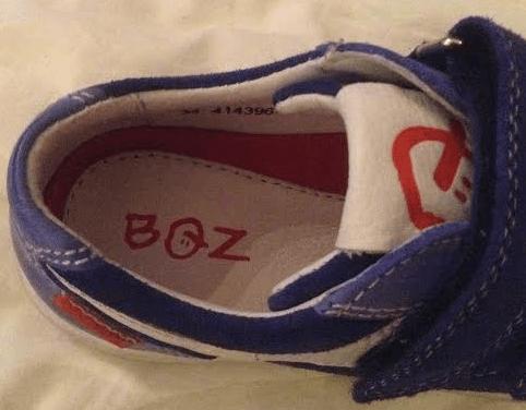centimeter schoenmaat 21 kind