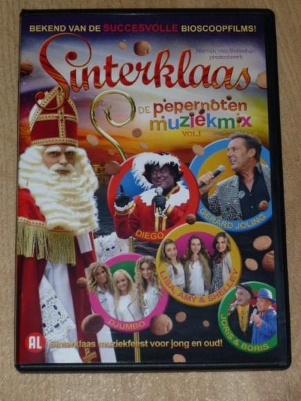Sinterklaas en de pepernoten muziekmix