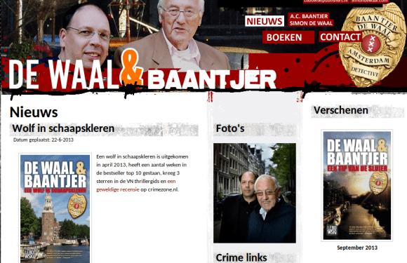 Baantjer, Opperdoes, Jacob, De Waal, Thrillers, Amsterdam