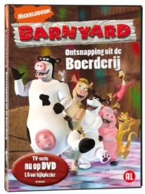 dvd barnyard, ontspanning uit de boerderij