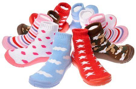 Mr. / Ms. Boogie Shoes; Sok,slof en schoen ineen