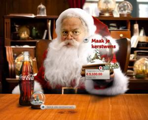 Coca Cola kerstman