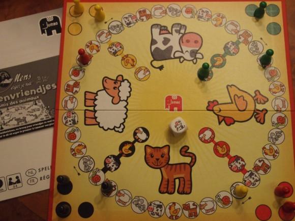 Jumbo's Dierenvriendjes speelbord