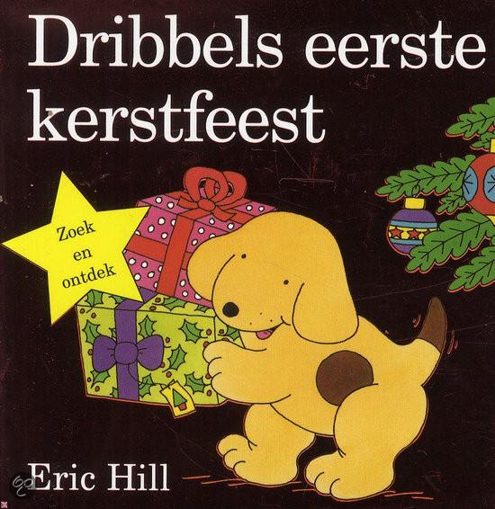 dribbels eerste kerstfeest kartonboekje