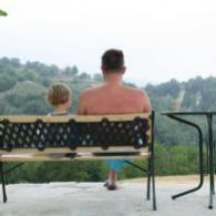voorleesfoto papa en kind