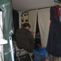 voorleesfoto Lezen in de tent