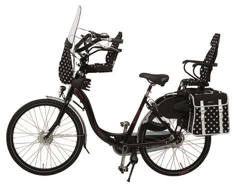 fiets geschikt voor 2 kinderen